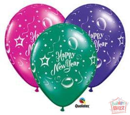 11-inch HNY New Year Latex Balloon