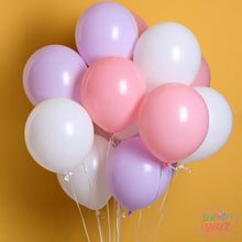 Load image into Gallery viewer, Your Choice of Helium-Filled Pastel-Matte Colored Balloons