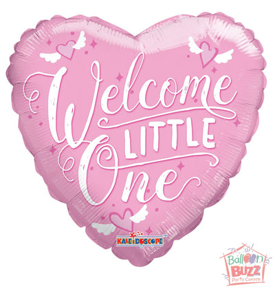 Welcome Pink - 18 inch - Helium-Filled Foil Balloon