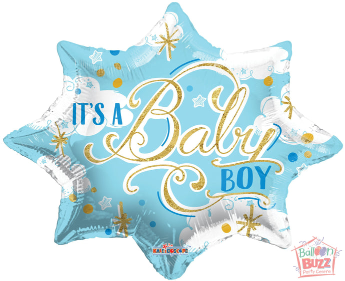 It's A Baby Boy - 18 inch - Helium-Filled Foil Balloon