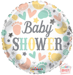 Baby Shower Elements - 18 inch - Helium-Filled Foil Balloon