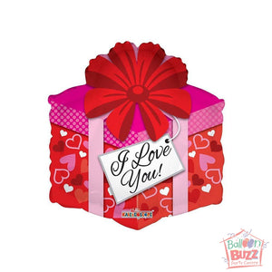 Love Gift - 18 inch - Helium-Filled Foil Balloon