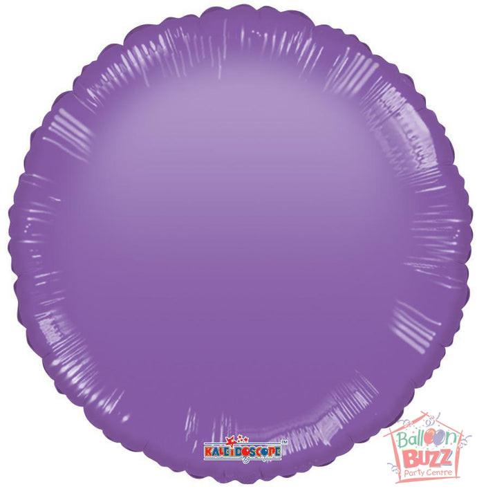 Purple Circle - 18 inch - Helium-Filled Foil Balloon