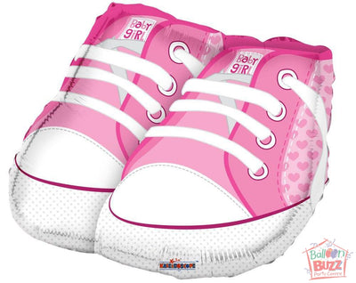 Shoes Pink - 18 inch - Helium-Filled Foil Balloon