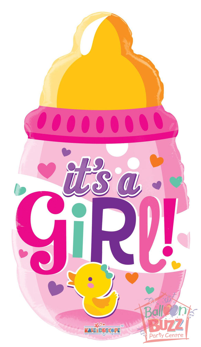 Bottle Girl Shape - 18 inch - Helium-Filled Foil Balloon