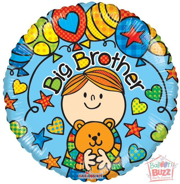 Big Brother - 18 inch - Helium-Filled Foil Balloon