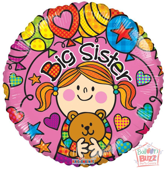 Big Sister - 18 inch - Helium-Filled Foil Balloon