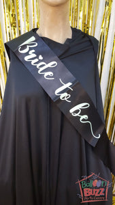 WED Bride To Be GID Sash BB