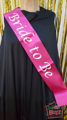 WED Bride To Be Sash BB