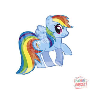 28-inch - Helium-Filled My Little Pony Rainbow Dash Foil Balloon