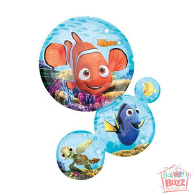 33-inch - Helium-Filled Finding Nemo Shape Foil Balloon