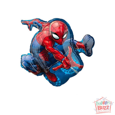 29-inch - Helium-Filled Spiderman Foil Balloon