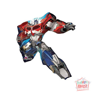 35-inch - Helium-Filled Transformers Animated Foil Balloon