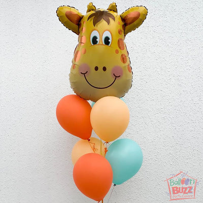 32-Inch Jolly Giraffe Balloon Bouquet