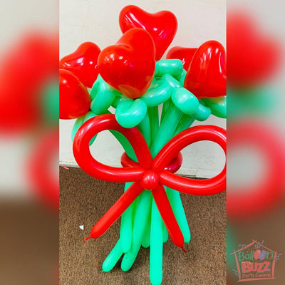 My Heart To Yours Flower Balloons