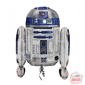 26-inch - Helium-Filled R2D2 Foil Balloon