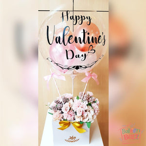 24-inch and 5-inch Mini Balloons with Customized Message
