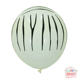 12-inch - Printed - White Specks - Helium-Filled Balloon