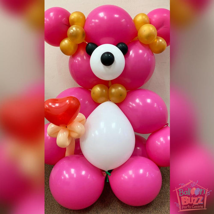 Teddy Bear Balloon Sculpture