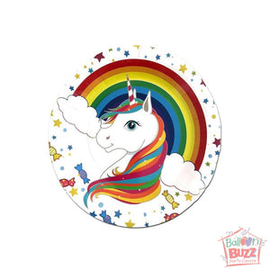 Theme Unicorn Plate 7in (6s)