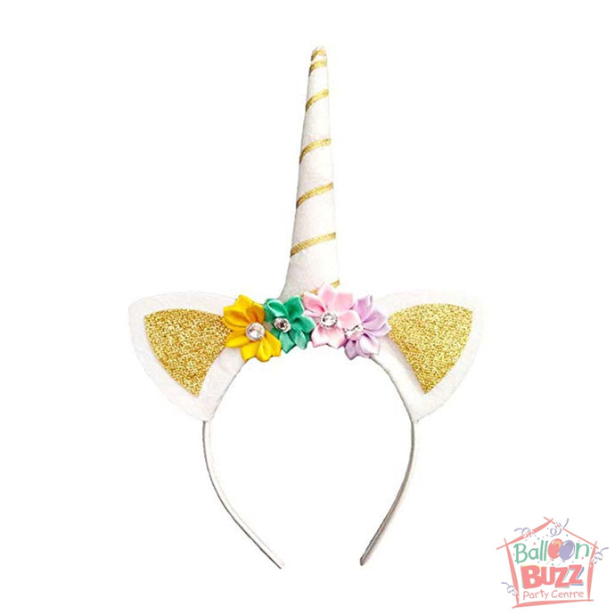 ACC Unicorn Glitter Gold Hairband