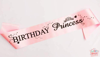 Birthday Princess Sash BB