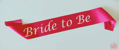 Bride To Be Sash BB