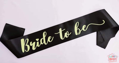 Bride To Be GID Sash BB
