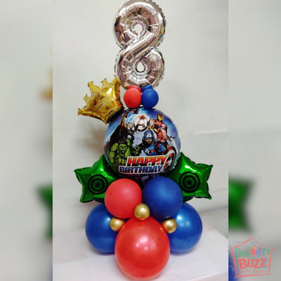 Avengers Theme Centerpiece