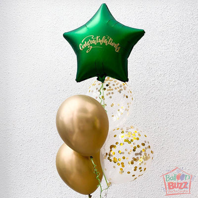18inch Jade Balloon Bouquet