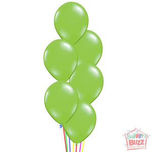 Balloon Bouquet - Clover Me Lucky 17-inch Helium-Filled Foil + Metallic Lemon Green Helium-Filled Latex