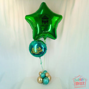 HRP Helium 36-inch Foil Star With Greetings
