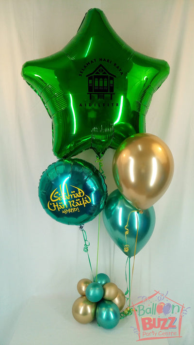 HRP Helium 36-inch Foil Star Package