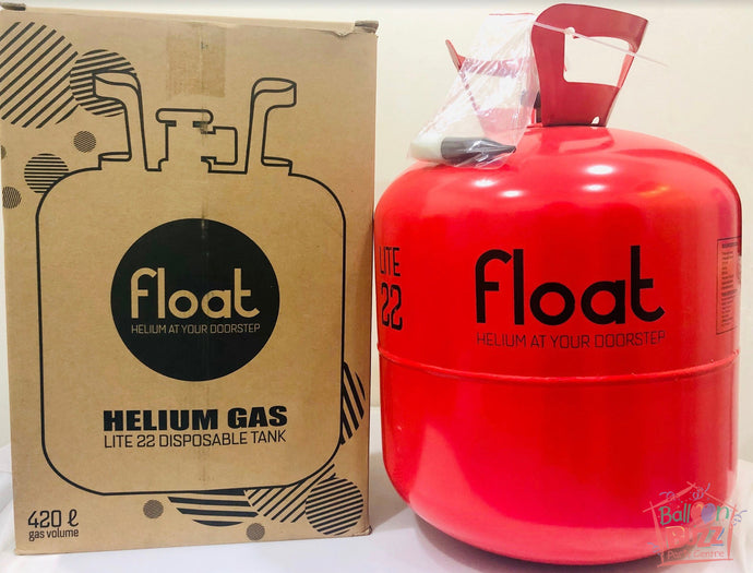 Disposable mini-helium Gas Tank