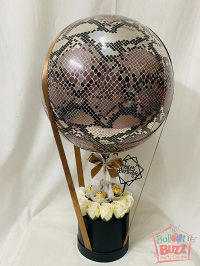 Snake Skin Flower Bouquet