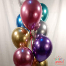 Load image into Gallery viewer, Your Choice of Helium-Filled Chrome Colored Balloons