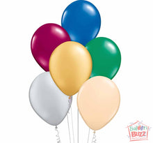 Load image into Gallery viewer, Your Choice of Helium-Filled Metallic Colored Balloons