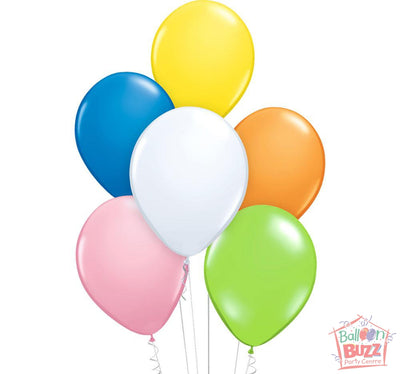 Your Choice of Helium-Filled Standard Colored Balloons
