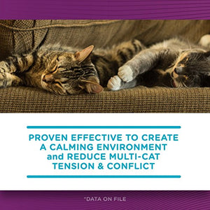 Comfort Zone Multicat Diffuser Kit for Cat Calming