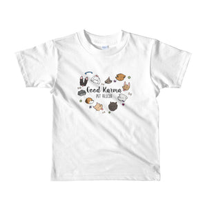 Kids Tee ~ Dogs (Assorted Colors)