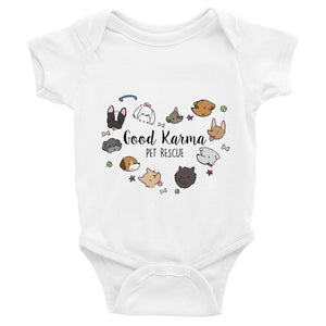 Baby Onesie ~ Dogs (Assorted Colors)