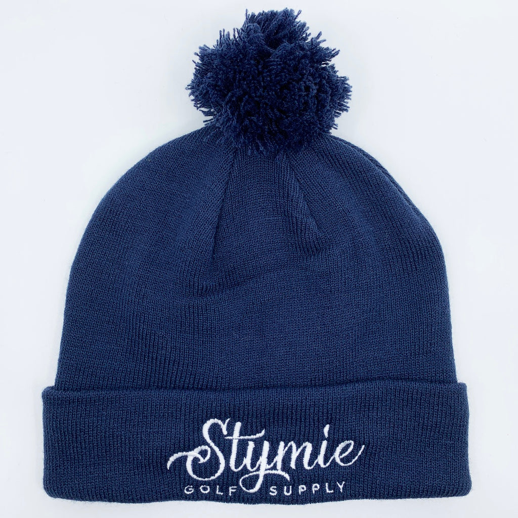 Knit Beanie with Pom (2 Colors Available)