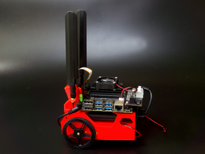 JetBot Kit BareBone Red  Discontinued