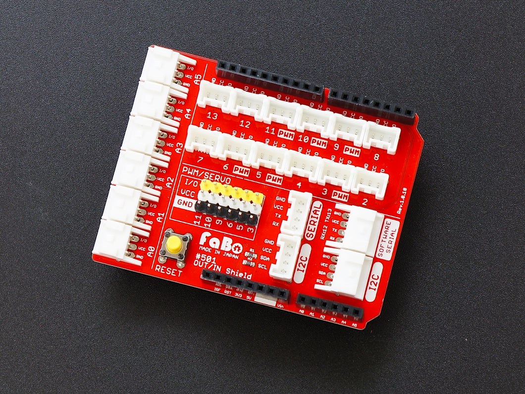 FaBo #501 OUT/IN Shield for Arduino