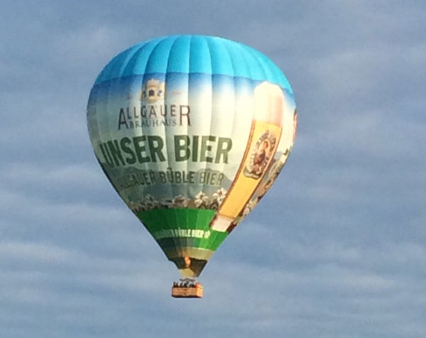Allgäuer Brauhaus Hot Air Balloon