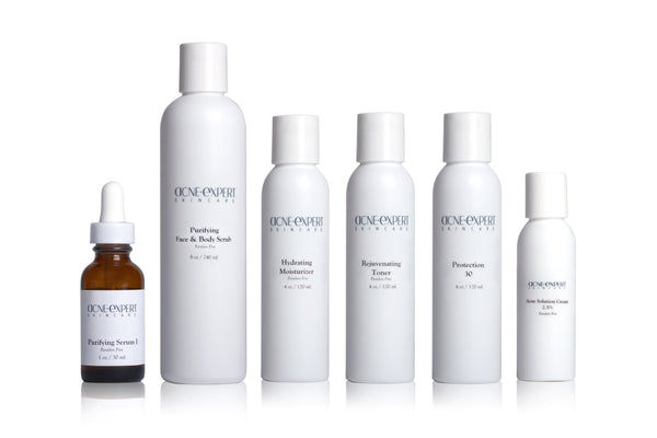 The Non-Inflamed Acne Kit-For Non-Inflamed Acne