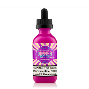Dinner Lady | Blackberry Crumble – Eliquid (60mL)