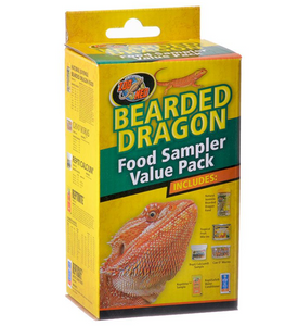 Zoo Med Bearded Dragon Foods Sampler Value Pack