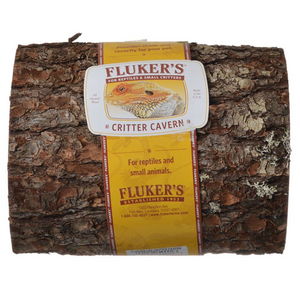 Flukers Critter Cavern Half-Logs