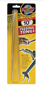 Zoo Med  Stainless Steel Feeding Tongs